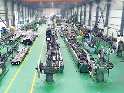 美亚不锈钢管生产线