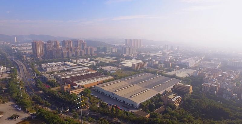 美亚厂区鸟瞰图1