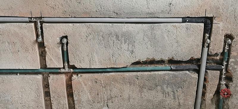 不锈钢水管安装-美亚别墅案例