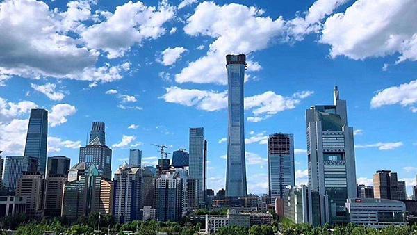 北京中国尊大厦双卡压管件工程案例