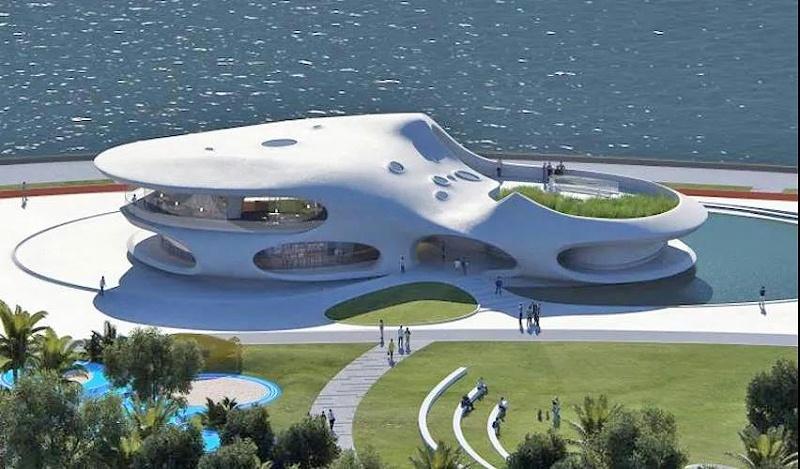 """美亚案例 2021年最期待坐标天空之城""""云洞图书馆""""建成"""