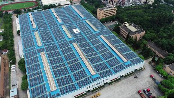 广州美亚光伏发电并网成功,以清洁能源促进企业发展