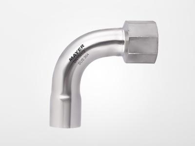 焊接 -90度内丝弯头