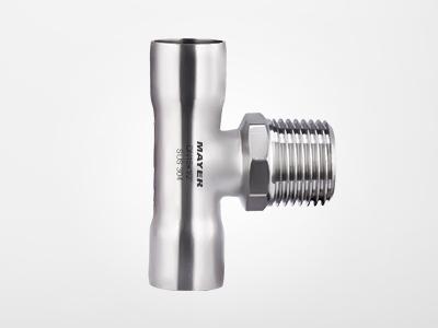 焊接 - 外丝三通